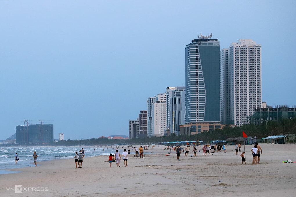 Thị trường bất động sản nghỉ dưỡng gần biển Mỹ Khê, Đà Nẵng. Ảnh: Nguyễn Đông.