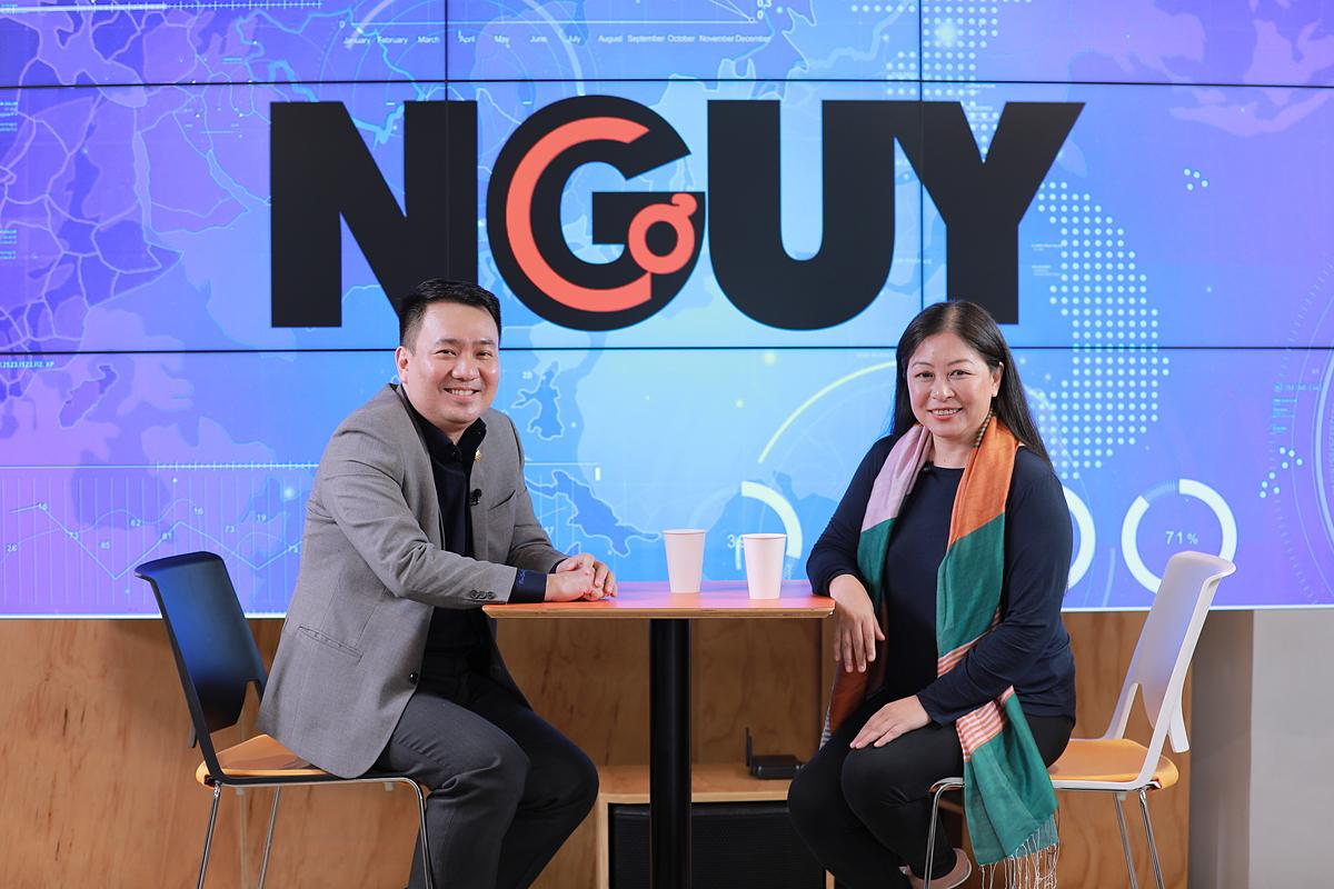 ông Lê Trí Thông, Phó Chủ tịch HĐQT kiêm Tổng Giám đốc Công ty Cổ phần Vàng Bạc Đá quý Phú Nhuận PNJ trong chương trình Nguy - Cơ.