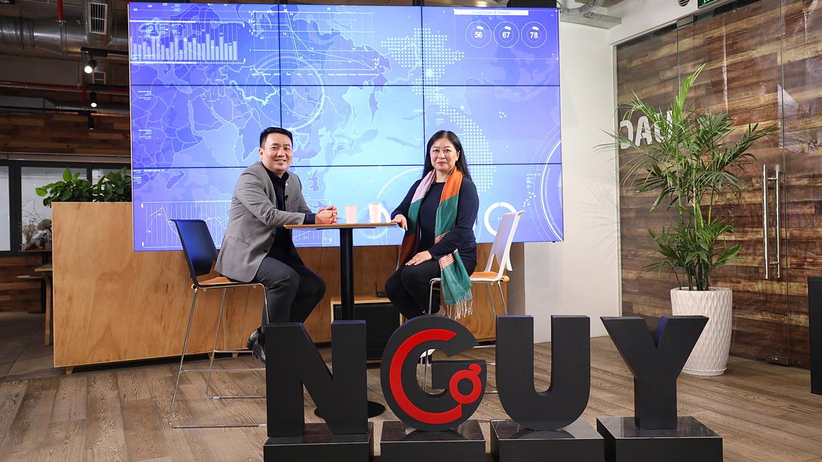 Ông Lê Trí Thông, Phó Chủ tịch HĐQT kiêm Tổng Giám đốc Công ty Cổ phần Vàng Bạc Đá quý Phú Nhuận PNJ trong chương trình Nguy - Cơ. Ảnh: S-world Multimedia.