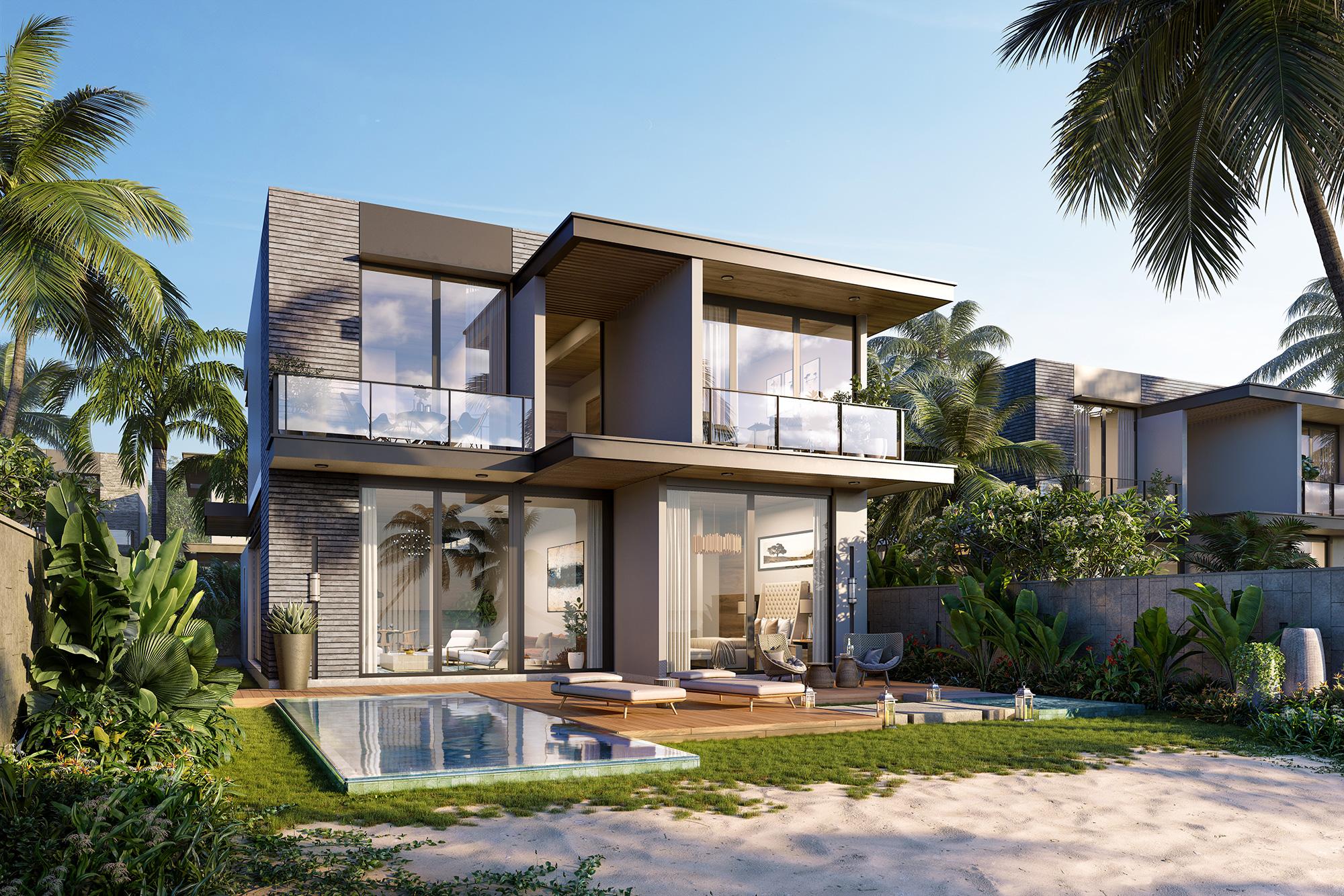 Lối kiến trúc mở giúp đón nắng tự nhiên, tạo cảm giác thoáng đãng. Ảnh: IFF Holdings.