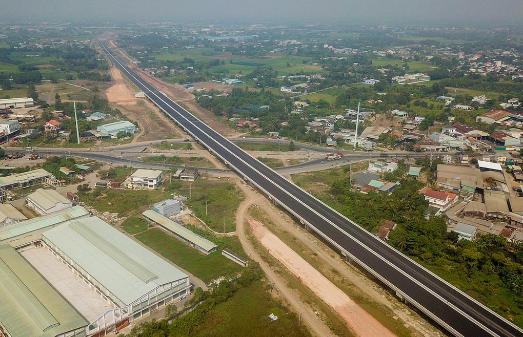 Một góc huyện Bình Chánh, chếch về phía Tây TP HCM. Ảnh: Trần Quỳnh.