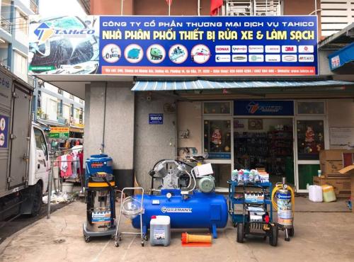 Thiết bị chuyên nghiệp sẽ nâng cao chất lượng của các trạm rửa xe.