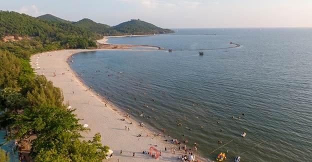Biệt thự biển phong cách Địa Trung Hải nâng tầm du lịch Hà Tiên