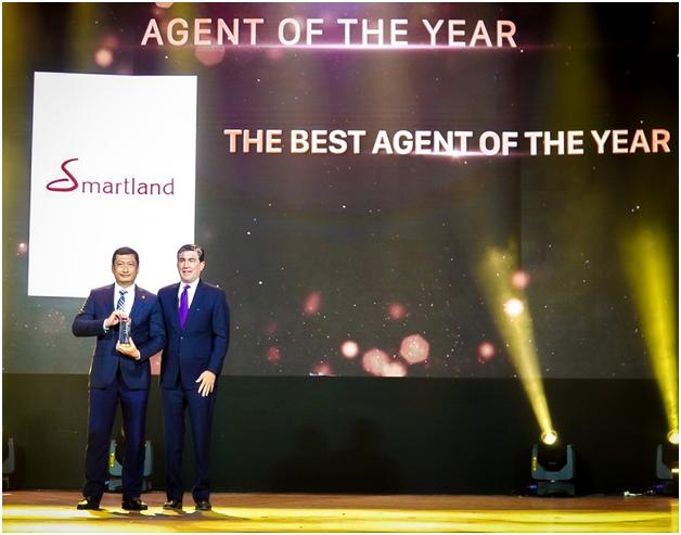 Smartland đạt giải 'Đại lý xuất sắc' dự án The River Thu Thiem