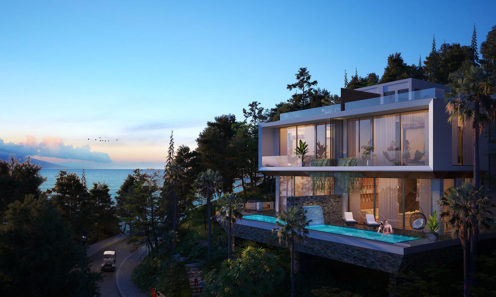 Casa Marina Premium tọa lạc tại Bãi Xép theo tiêu chuẩn 5 sao quốc tế. Ảnh phối cảnh: BCG Land.