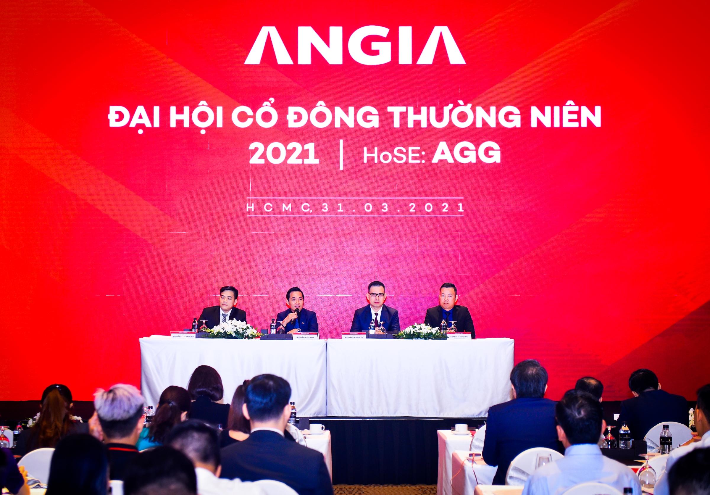 Tại đại hội cổ đông ngày 31/3, An Gia công bố mục tiêu doanh thu 3.600 tỷ đồng năm 2021. Ảnh: An Gia.