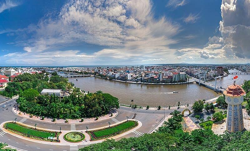 Một góc thành phố Phan Thiết. Ảnh: cungphuot.info