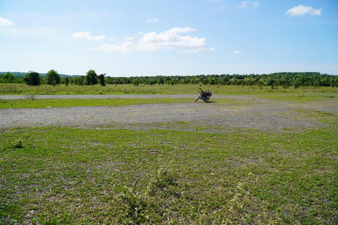 Khu đất dự kiến xây dựng dự án sân bay Phan Thiết ở xã Thiện Nghiệp. Ảnh:Việt Quốc.
