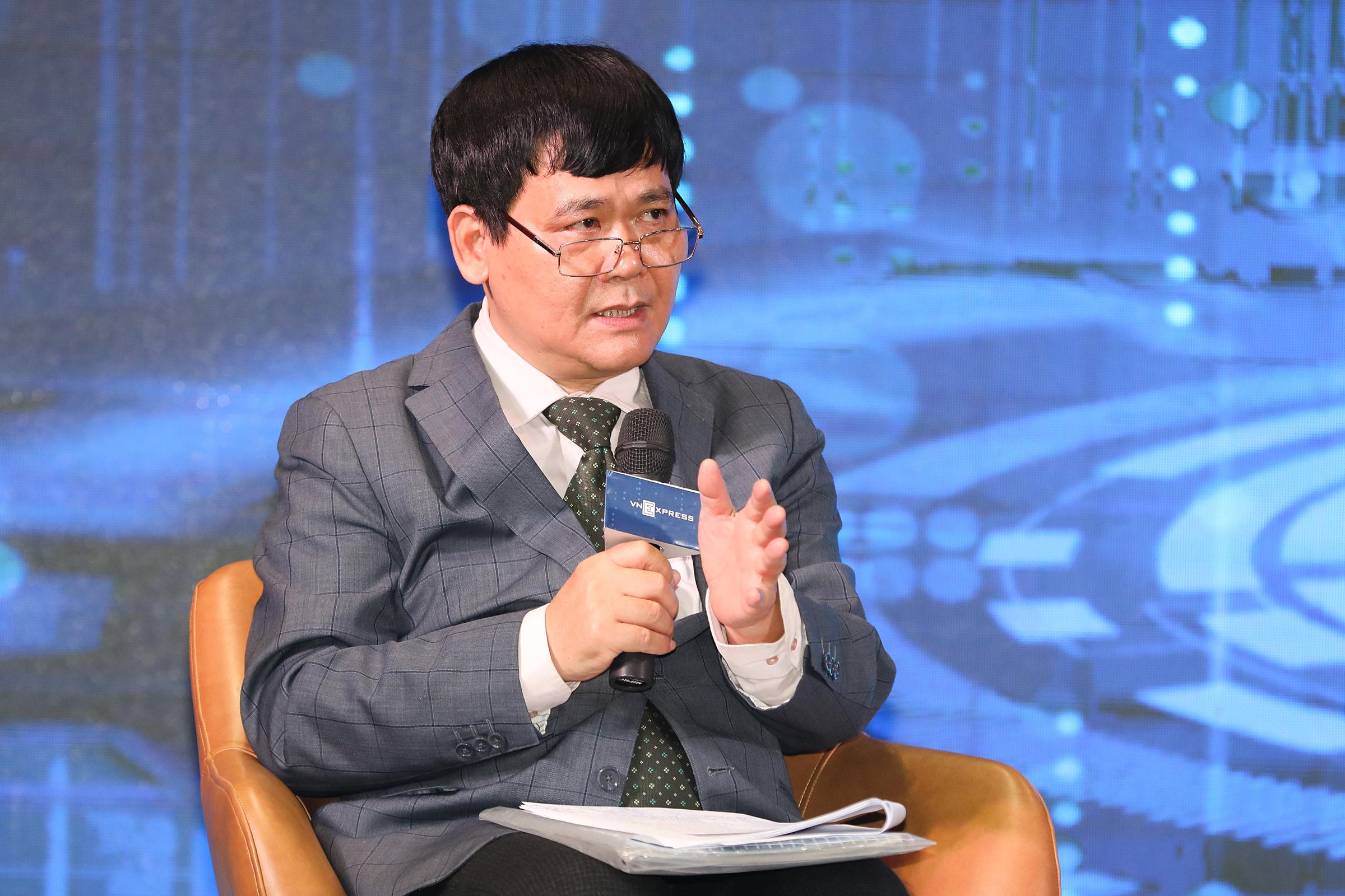 PGS.TS. Trần Kim Chung - Phó viện trưởng Viện Nghiên cứu Quản lý Kinh tế Trung ương. Ảnh: Quỳnh Trần.