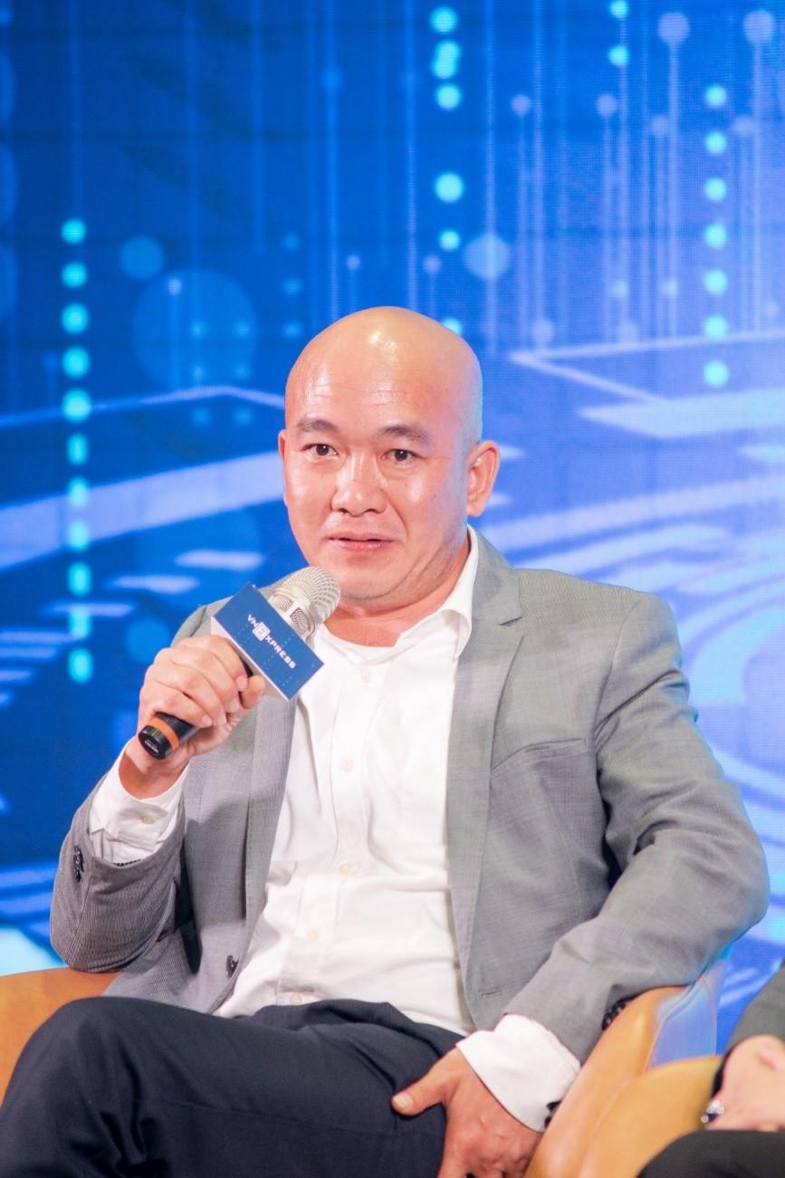 TS Sử Ngọc Khương, Giám đốc cấp cao Bộ phận đầu tư Savills Việt Nam, phát biểu tại sự kiện. Ảnh: Quỳnh Trần.