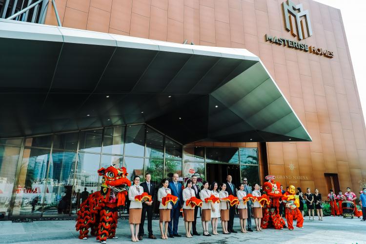 Masterise Homes chi 400 tỷ đồng xây nhà mẫu Grand Marina Gallery