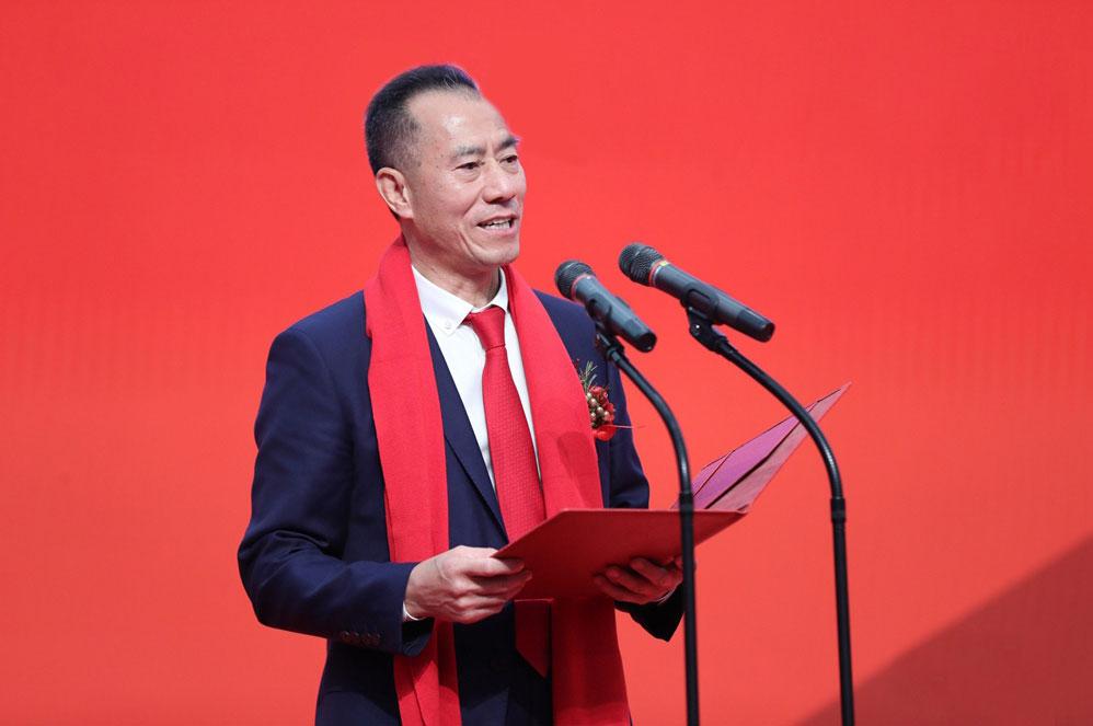 Li Jianquan trong một sự kiện của công ty. Ảnh: Winner Medical