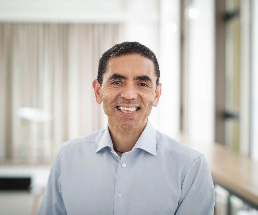 CEO kiêm đồng sáng lập hãng dược phẩm BioNTech Ugur Sahin. Ảnh:Bloomberg