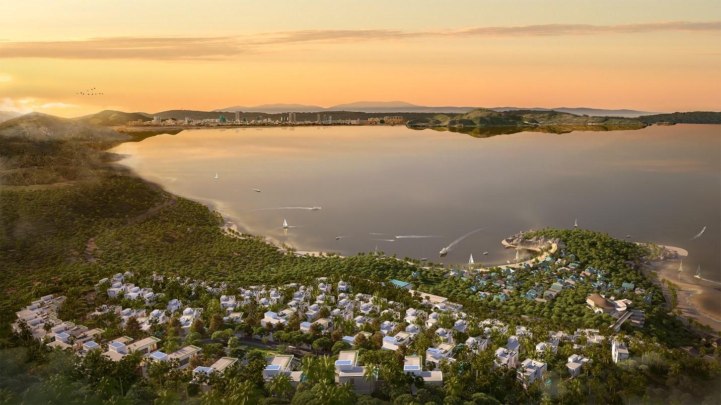 Casa Marina Premium tọa lạc tại Bãi Xép. Ảnh phối cảnh: BCG Land.