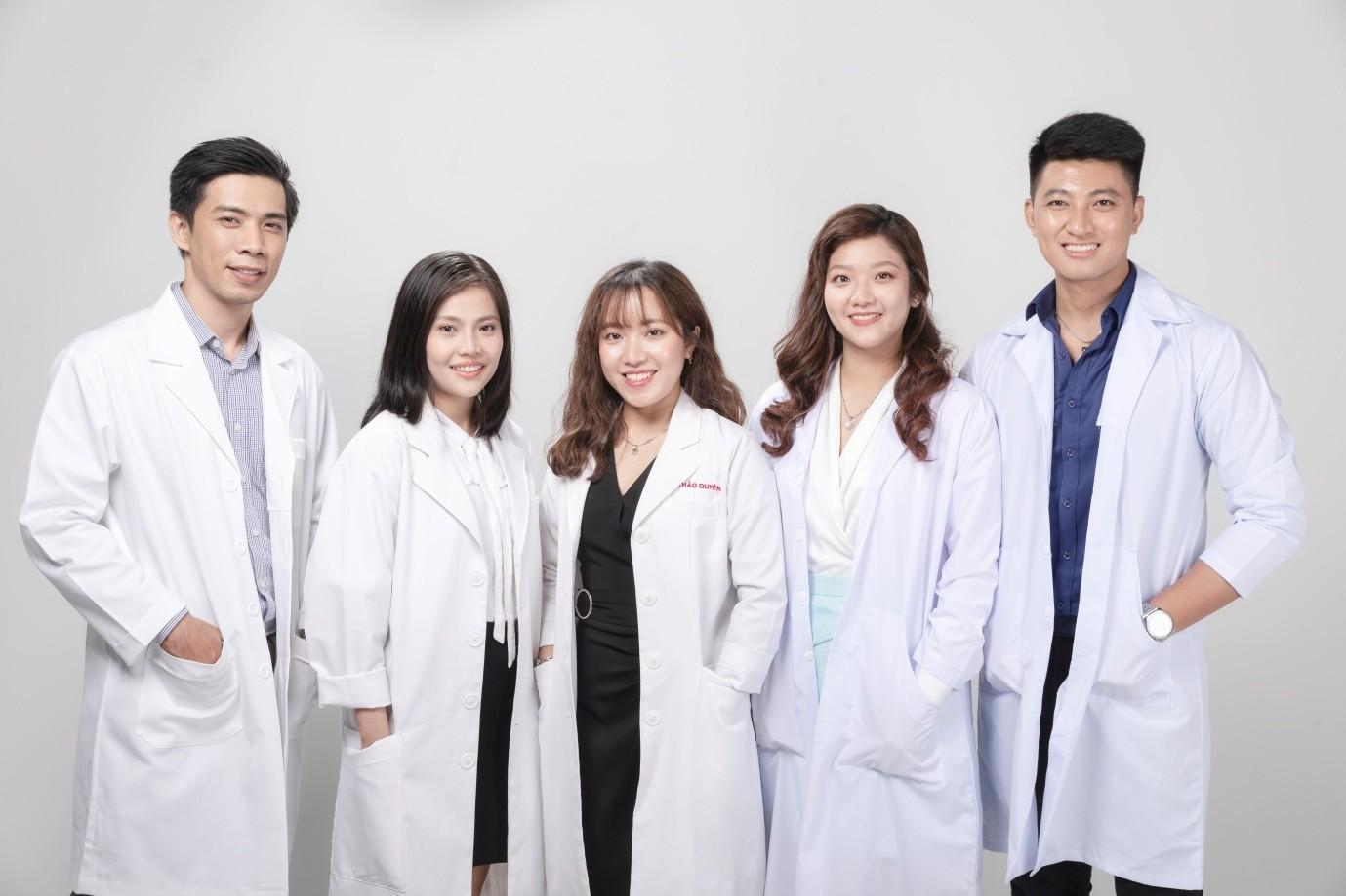 Đội ngũ bác sĩ, chuyên viên tư vấn tại ViSkin.