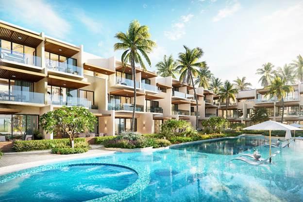 Phân khu The Song sẽ giới thiệu trên thị trường trong tháng 5 này với gần 100 căn nhà vườn kiểu mới. Ảnh: Nam Group.