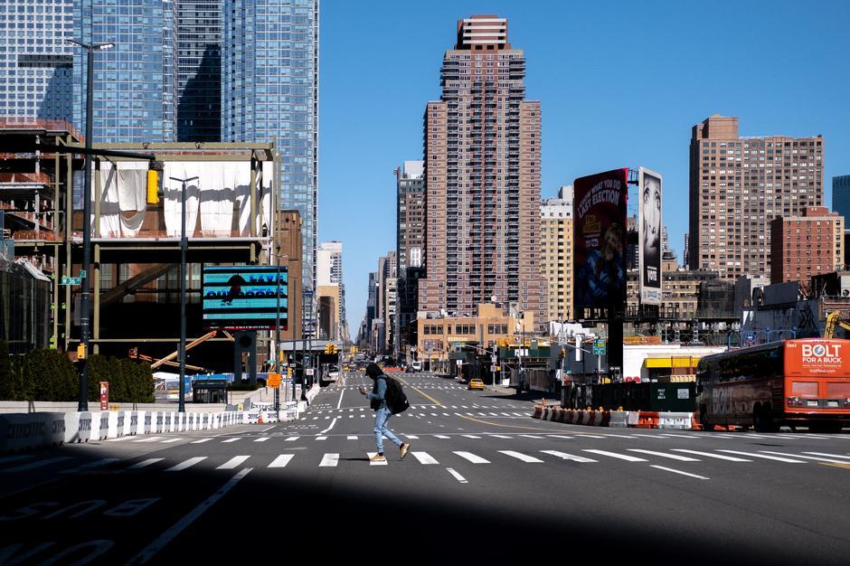 Thành phố New York (Mỹ). Ảnh: Reuters