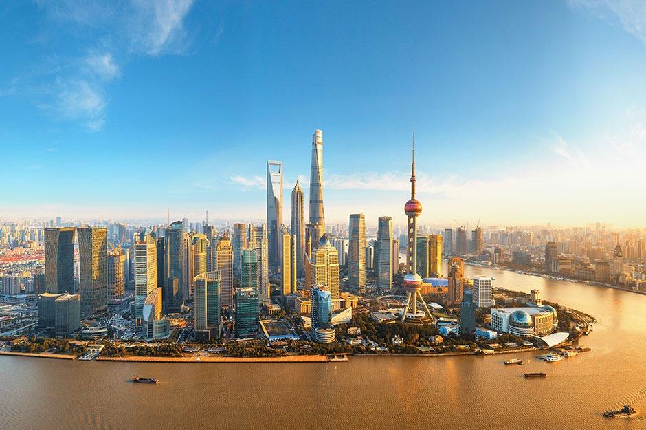 Một góc thành phố Thượng Hải (Trung Quốc). Ảnh: Reuters