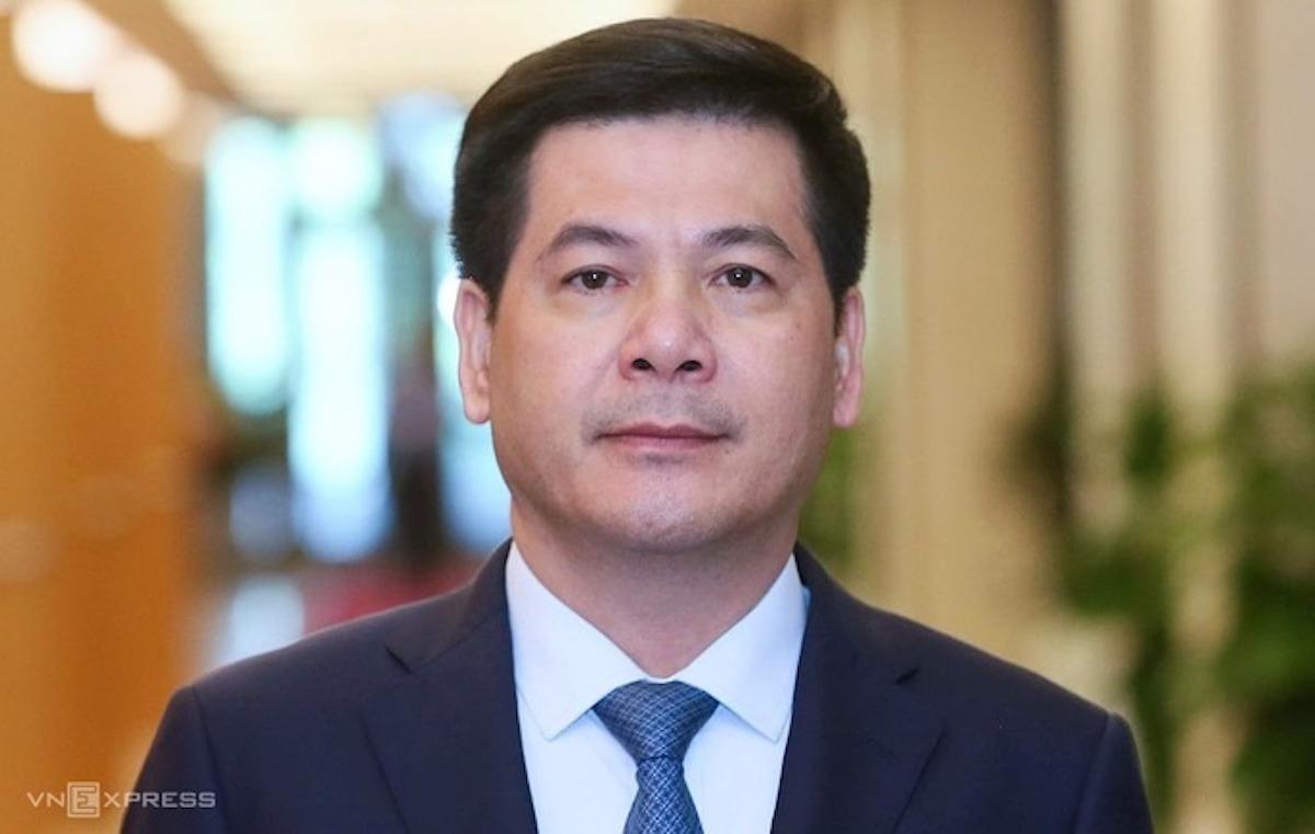 Tân Bộ trưởng Công Thương Nguyễn Hồng Diên. Ảnh: Giang Huy