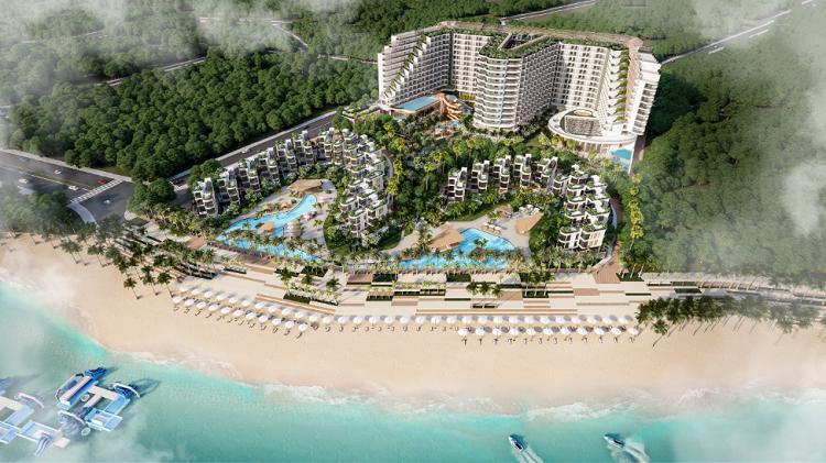 Địa thế phong thủy của Charm resort Long Hải