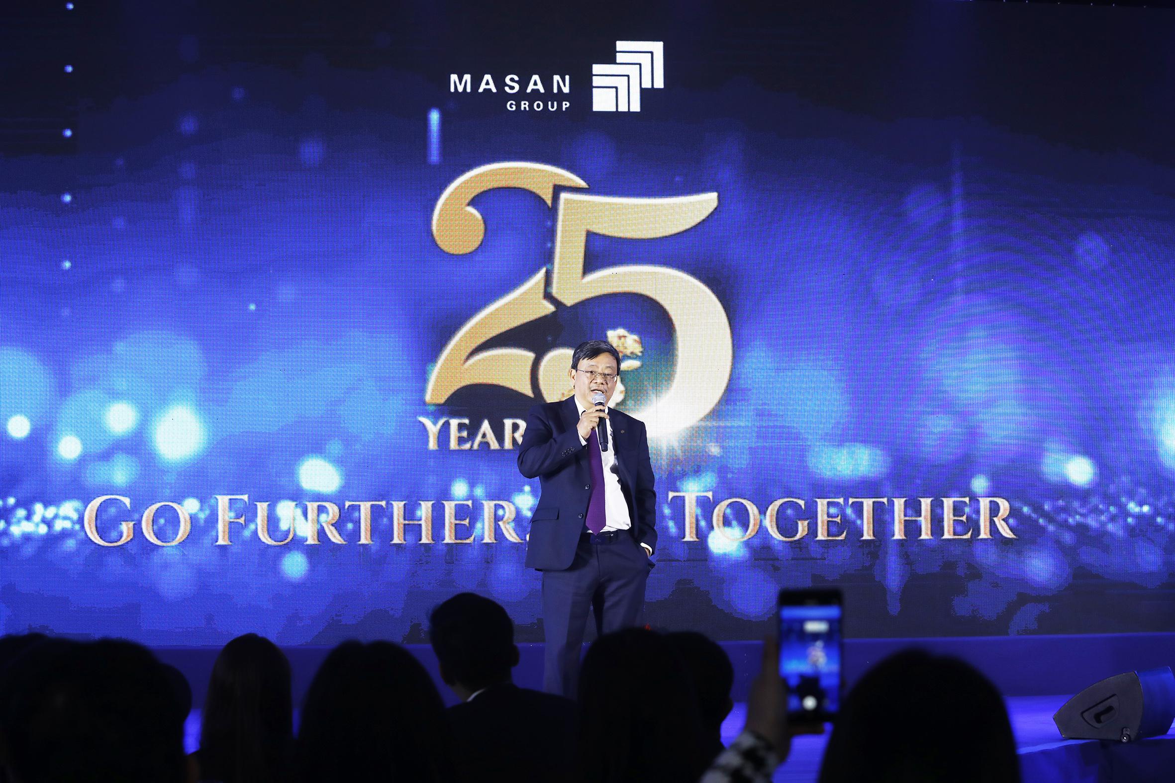 Ông Nguyễn Đăng Quang - Chủ tịch HĐQT Masan Group - chia sẻ tại Lễ kỷ niệm 25 năm thành lập.