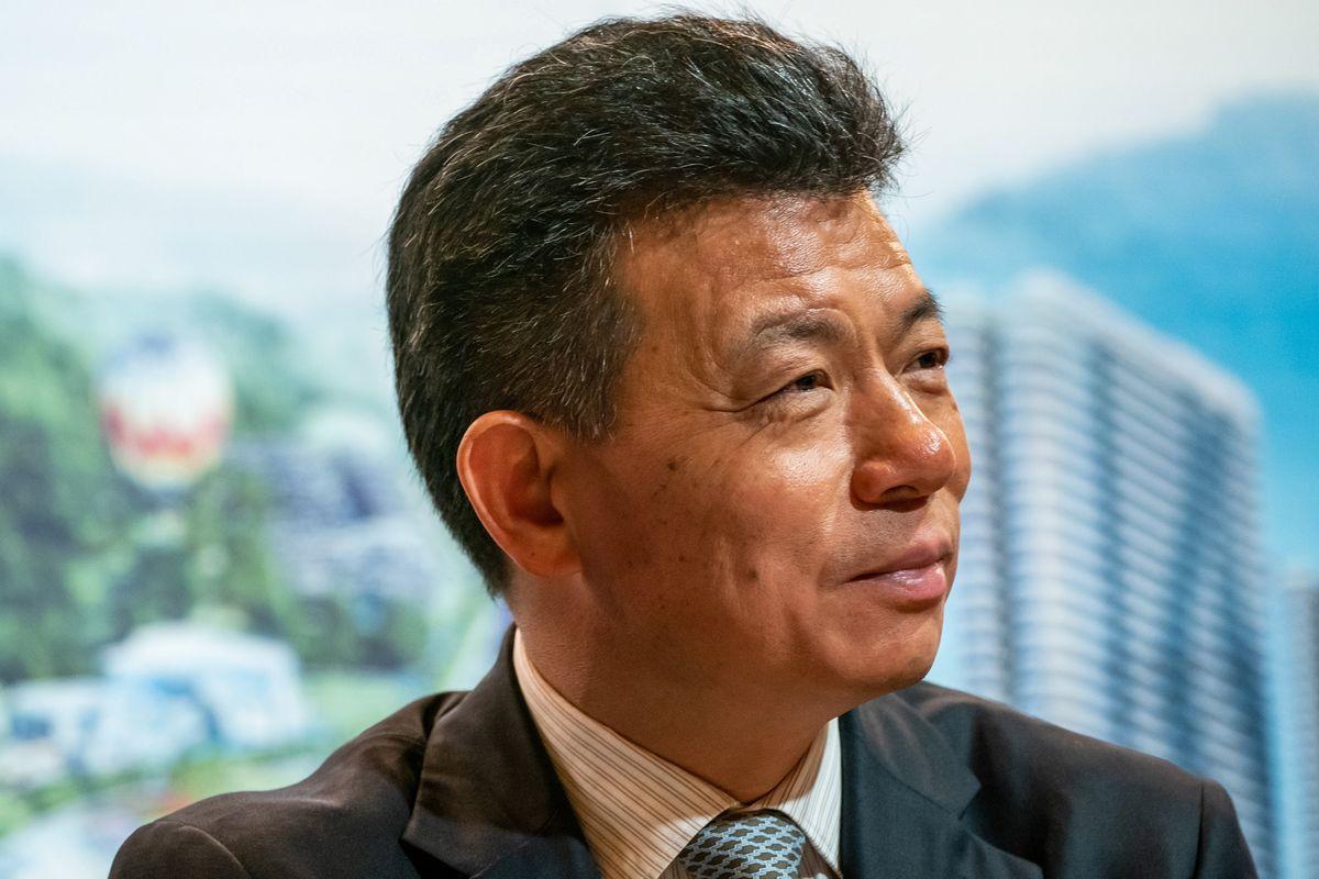 Tài phiệt bất động sản Trung Quốc Kwok Ying Shing. Ảnh: Bloomberg