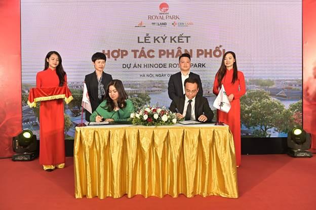 WTO ký kết hợp tác phân phối dự án Hinode Royal Park
