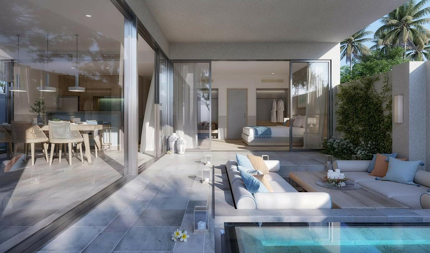 Các căn biệt thự tại Ixora Ho Tram by Fusion sẽ bàn giao đầy đủ nội thất. Ảnh: Ho Tram Project.