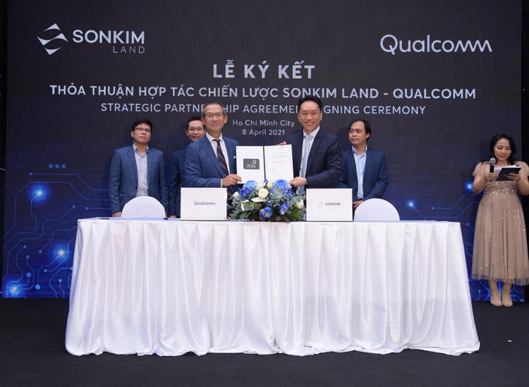 SonKim Land bắt tay với doanh nghiệp công nghệ