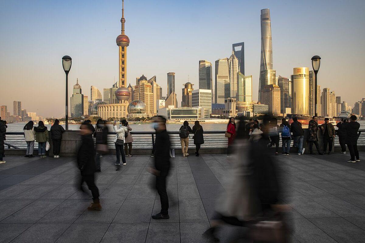 Thành phố Thượng Hải (Trung Quốc) đắt đỏ nhất với người giàu. Ảnh: Bloomberg