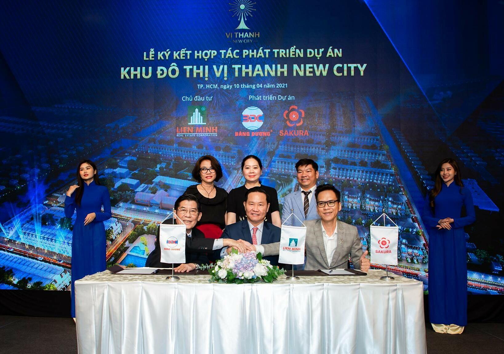 Sakura Group hợp tác phát triển khu đô thị Vị Thanh New City