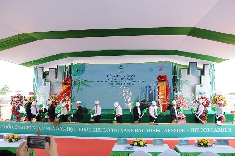 Dự án nhà ở xã hội The Ori Garden Đà Nẵng khởi công