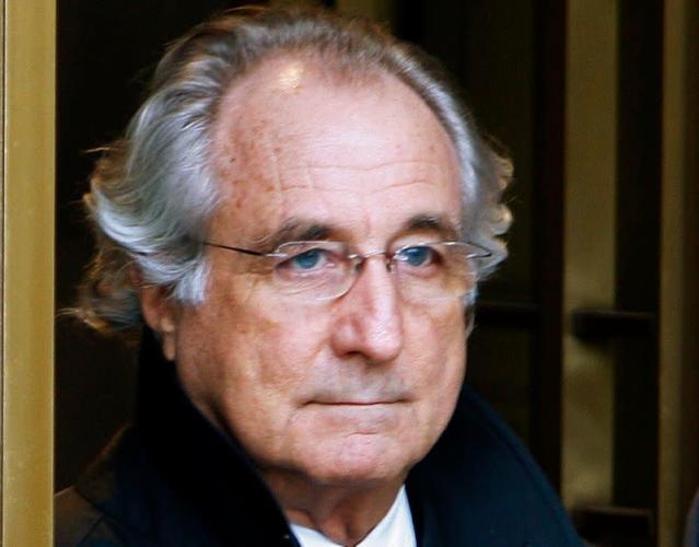 Siêu lừa Bernard Madoff. Ảnh: Reuters