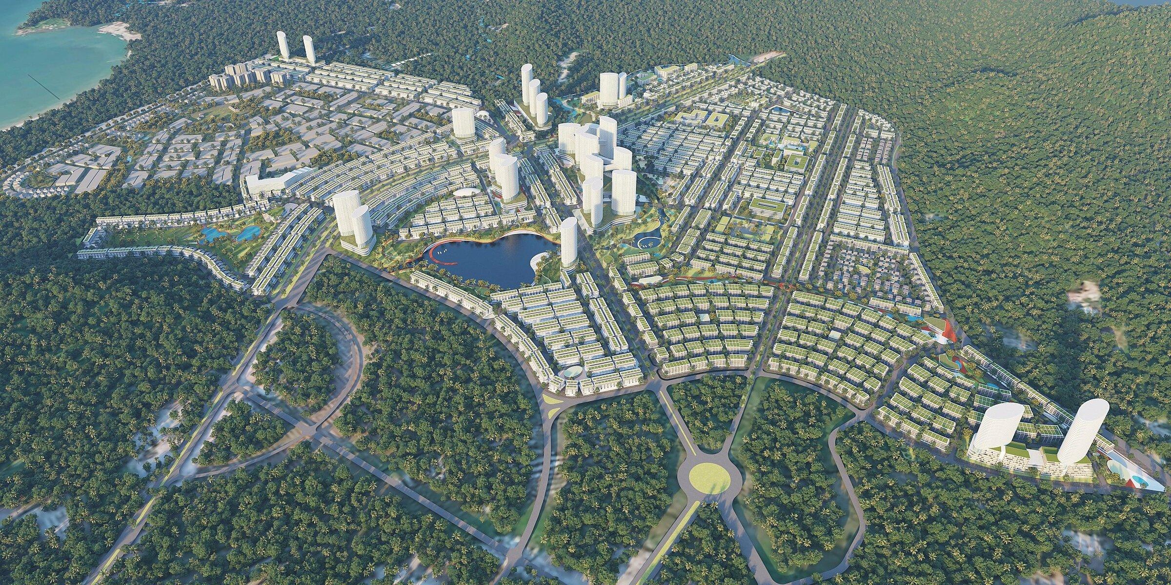 Meyhomes Capital Phú Quốc - dự án đầu tay của Tập đoàn Tân Á Đại Thành.