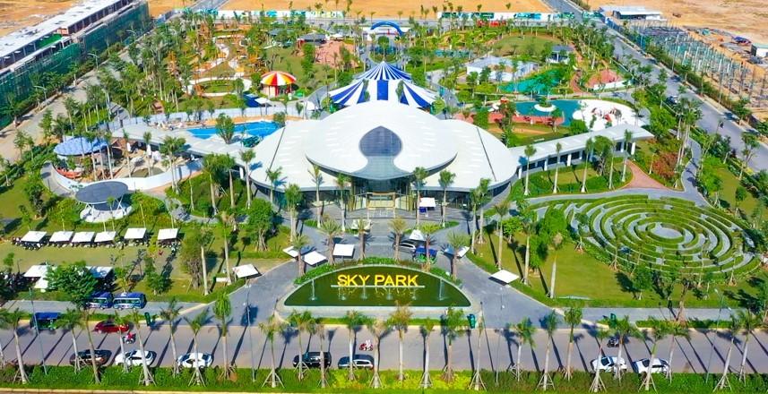 Tiện ích nội khu đa chức năng và hạ tầng đồng bộ tiếp tục tăng cơ hội sinh lời cho các sản phẩm tại khu đô thị thương mại giải trí Gem Sky World. Ảnh chụp vào tháng 4: Tập đoàn Đất Xanh.