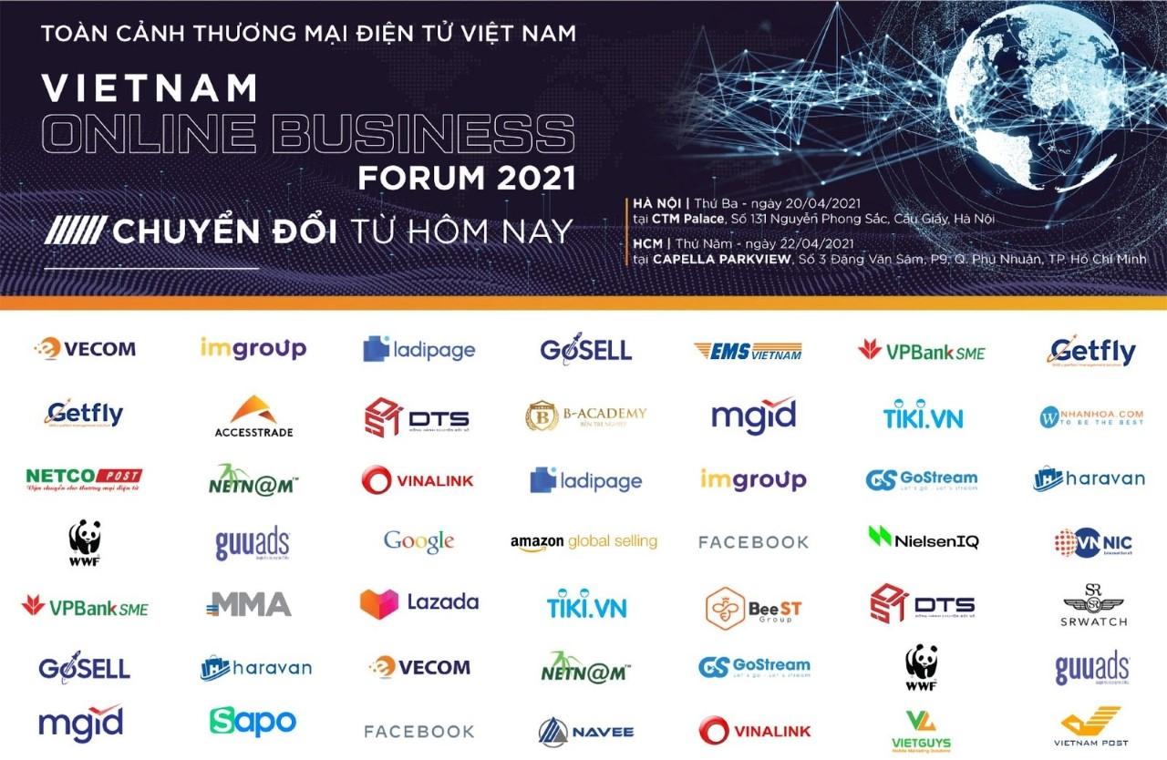 VOBF 2021 có sự đồng hành của nhiều đơn vị, đối tác lớn. Ảnh: IM Group.