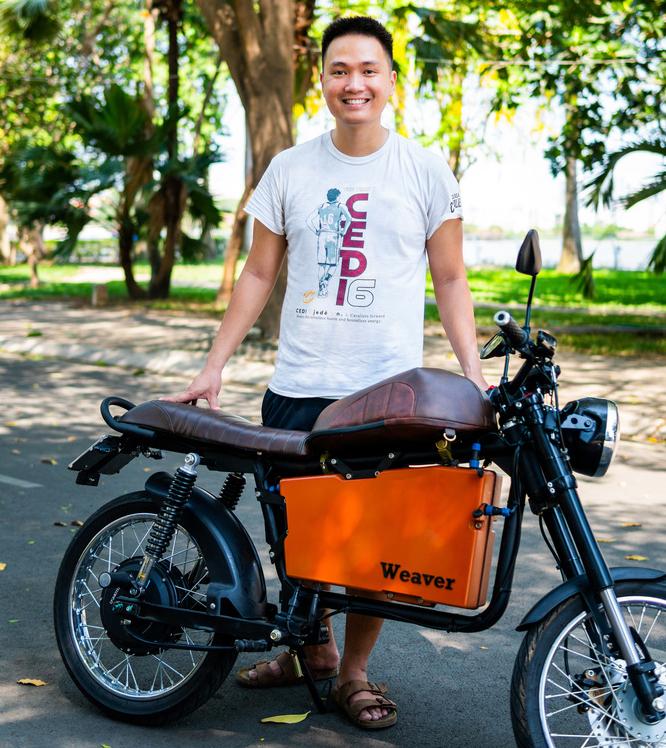 Mẫu xe có phong cách cá tính của Dat Bike hiện nay. Ảnh: Dat Bike.