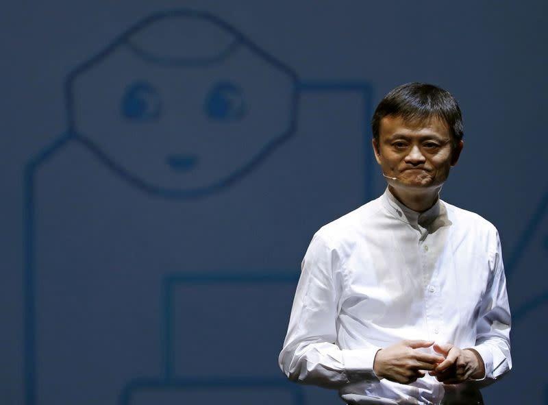 Jack Ma tại một hội nghị ở Chiba, Nhật Bản ngày 18/6/2015. Ảnh: Reuters.