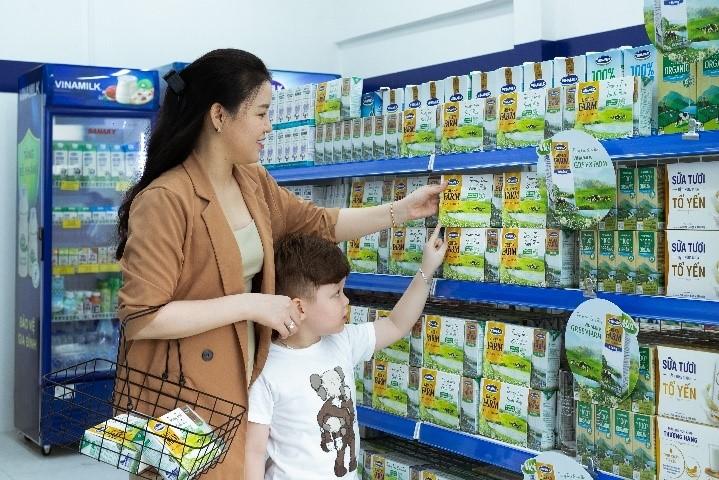 Sản phẩm sữa tươi Green Farm được Vinamilk giới thiệu hồi tháng 3/2021 thu hút sự quan tâm của người tiêu dùng