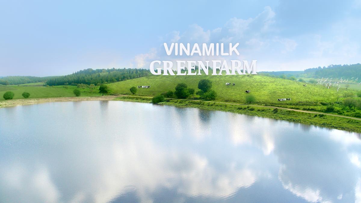 Mô hình trang trại sinh thái Green Farm là bước tiến của Vinamilk trong quá trình phát triển chăn nuôi bò sữa theo hướng bền vững