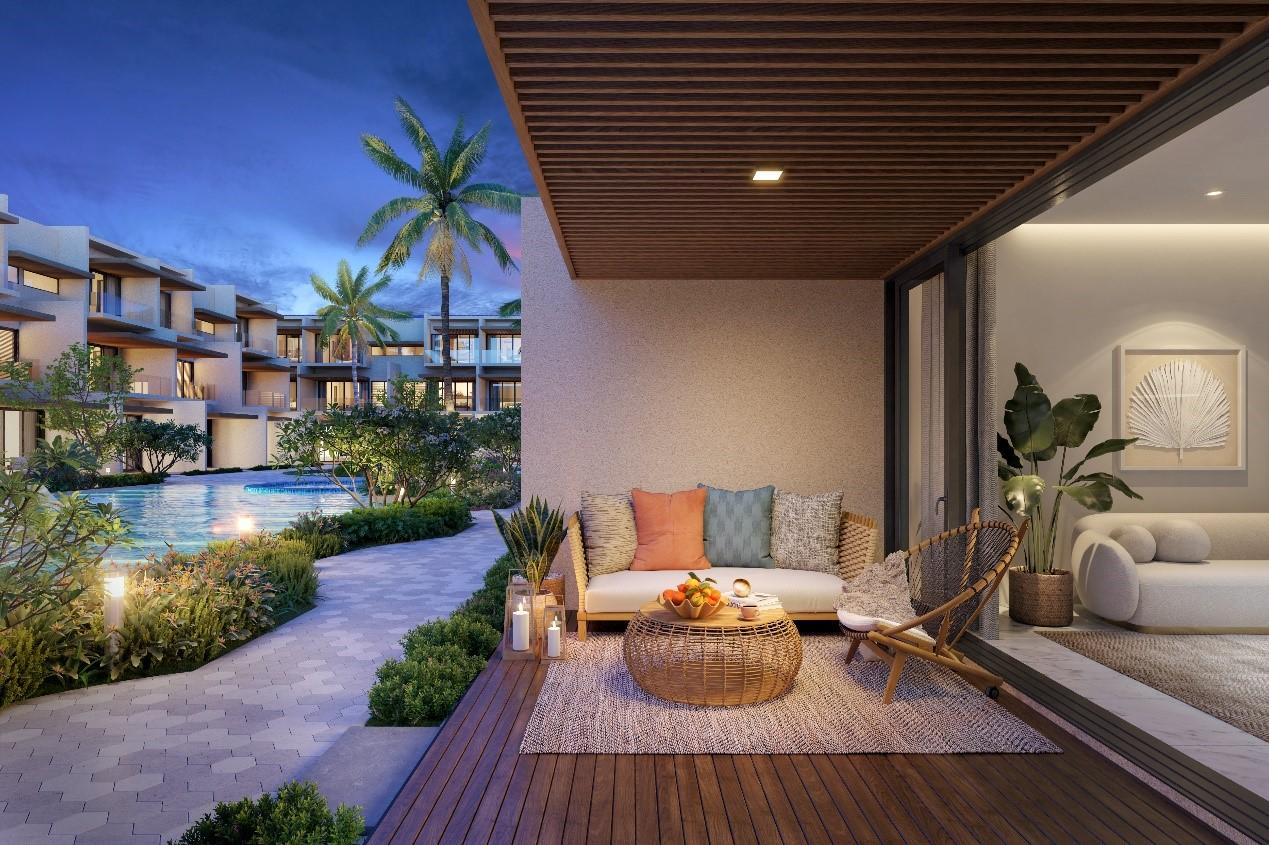 The Song được nhiều khách hàng ưa thích nhờ mức giá hợp lý và thuộc Thanh Long Bay, vốn là địa điểm phù hợp cho việc nghỉ dưỡng. Ảnh phối cảnh: Nam Group.