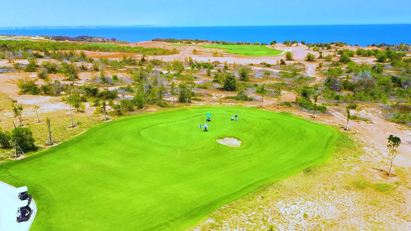 Sân Golf PGA Ocean đã khai trương ngày 17/4. Ảnh: Novaland.