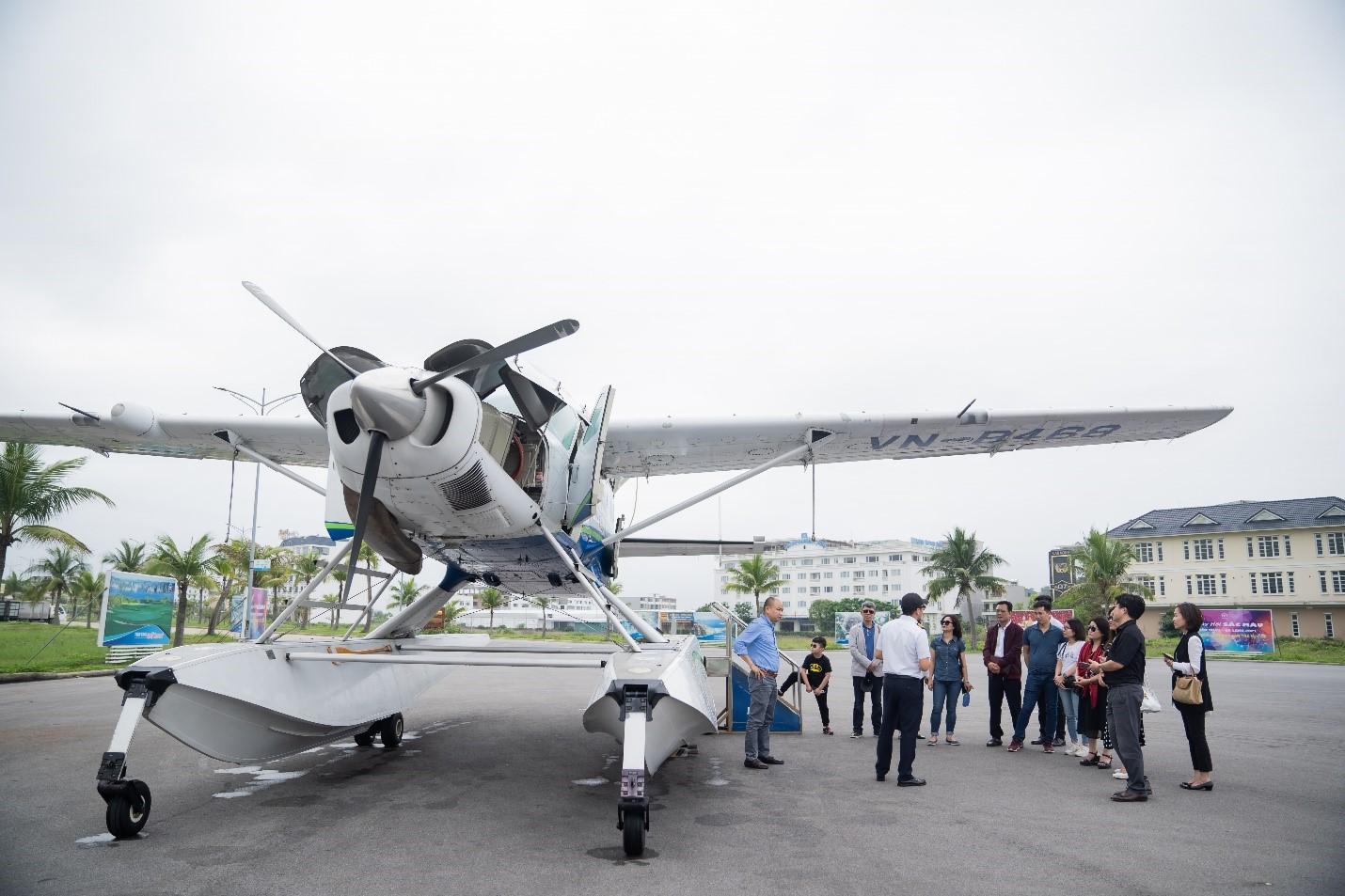 Trải nghiệm dự án nghỉ dưỡng cao cấp tại Hạ Long bằng thủy phi cơ