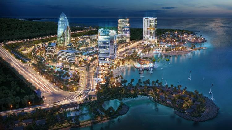 Phói cảnh tổng thể dự án Vega City Nha Trang.