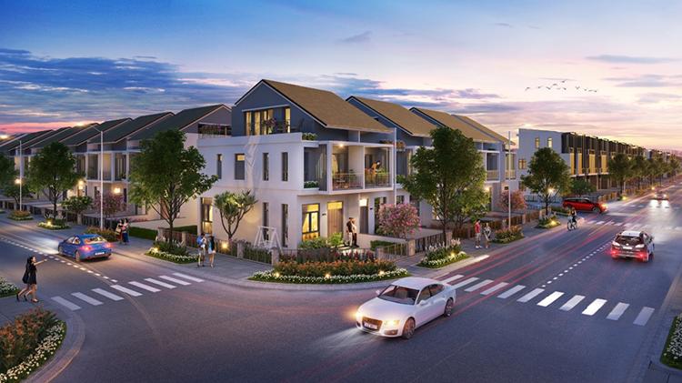 Dòng sản phẩm nhà phố xây sẵn phân khu Sapphire Parkview lần đầu tiên được giới thiệu ra thị trường.