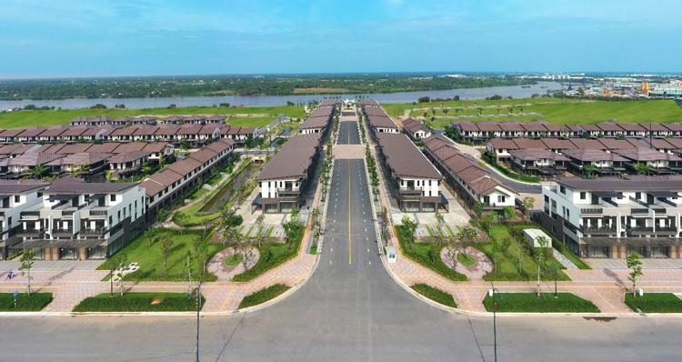Nhà phố, biệt thự Long An được lòng nhà đầu tư