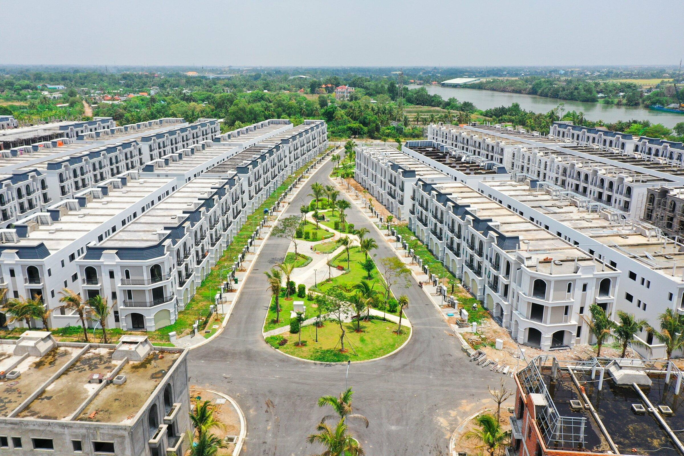 Bất động sản Long An tiếp tục thu hút nhà đầu tư