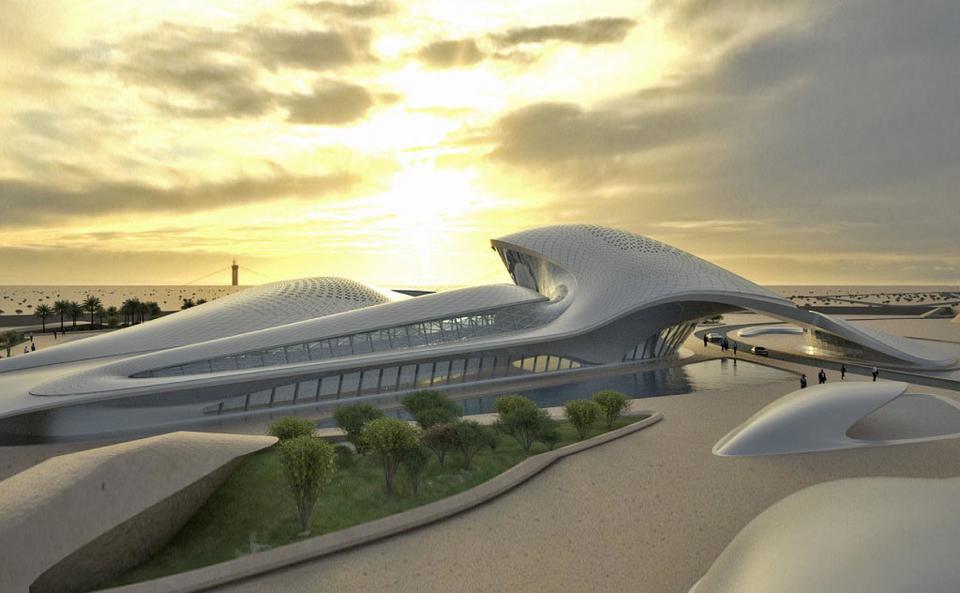 Tòa nhà Beeah, công trình nằm trong top 10 toà nhà thông minh nhất thế giới. Ảnh: Arabian Business.