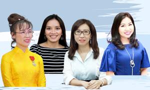 4 doanh nhân vào top phụ nữ Việt truyền cảm hứng