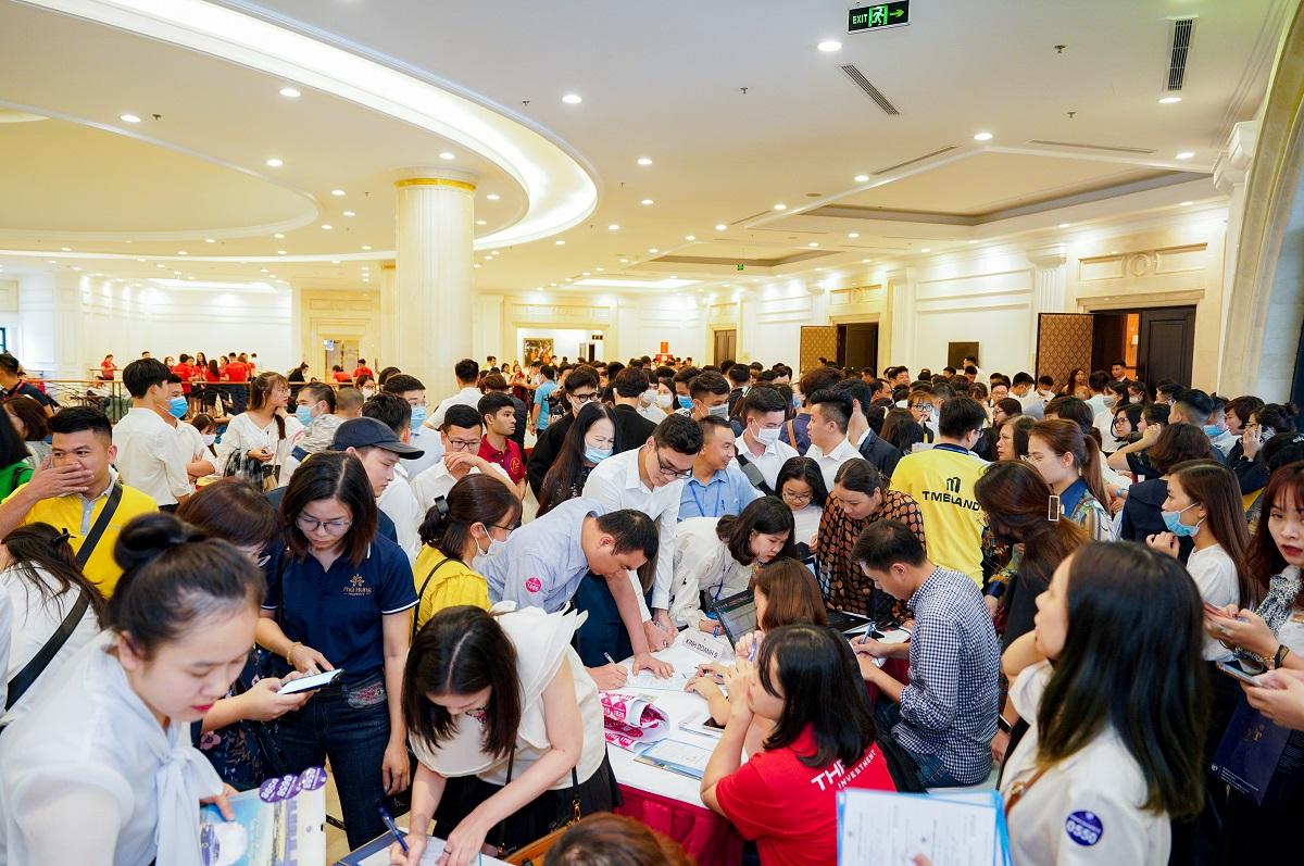 Gần 1.500 khách hàng Vinhomes Ocean Park tham gia sự kiện tri ân. Ảnh: Vinhomes.